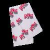 logo tour towel